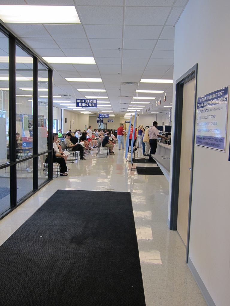 Pa Photo License Center Waiting Area
