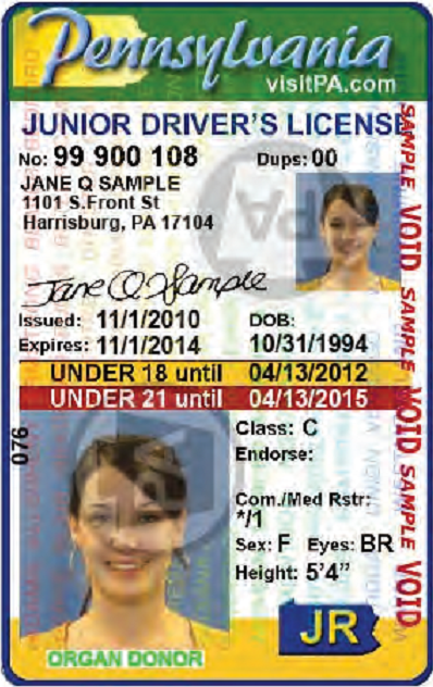Drivers Ed - PA-License | Pennsylvania License Application ...
