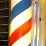 Barber Pole on PA License