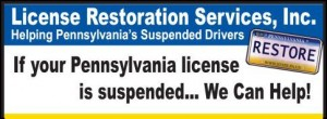 PA Suspended License Help