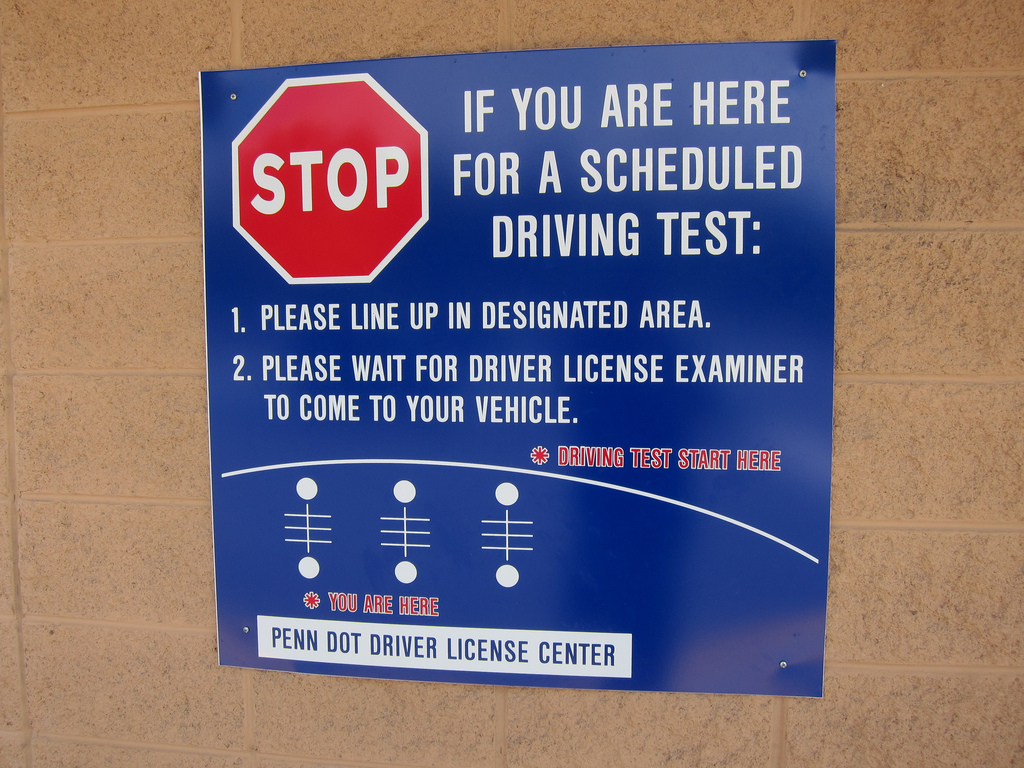 drivers license points in pennsylvania